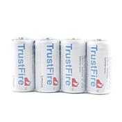 trustfire CR123A Li-ion gris (paquete de 4)