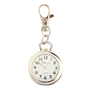 Stainless Steel Pocket Watch with Keychain Cool Watches Unique Watches Fashion Watch