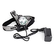 Linternas LED Linternas de Cabeza 1200 Lumens Modo Cree XM-L T6 Camping/Senderismo/Cuevas