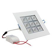 Luces de Techo 9 W 9 LED de Alta Potencia 1000 LM Blanco Natural AC 85-265 V