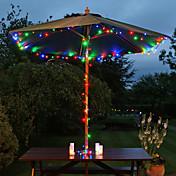 태양 60-LED 다채로운 빛 야외 요정 등 크리스마스 장식 램프가