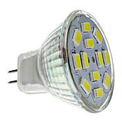2w gu4 (mr11) proyector led 12 smd 5730 240-260 lm blanco natural dc 12 v