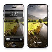 """다 코드 ™ iPhone 4/4S를위한 피부 : """"조용한 강""""(자연 계열)"""