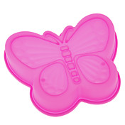 나비 모양 실리콘 케이크 형