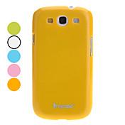 Para Funda Samsung Galaxy Other Funda Cubierta Trasera Funda Un Color Policarbonato Samsung S3