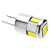 3W G4 LED 스팟 조명 6 SMD 5730 220-250 lm 차가운 화이트 AC 12 V