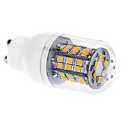 GU10 6W 46x2835SMD 520-550lm 3000K Warm White Light Żarówka LED Corn z pokrywą (220-240V)