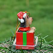 애완 동물 애호가를위한 귀여운 요크 장식 장식 크리스마스 선물
