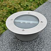 화이트 라이트 LED 태양 빛 둥근 중단 데크 선창 통로 정원 빛