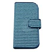 Para Funda Samsung Galaxy Cartera / Soporte de Coche / Diamantes Sintéticos / Flip / Magnética Funda Cuerpo Entero Funda Un ColorCuero