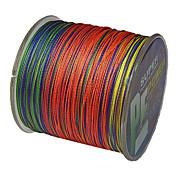 500M / 550 yardas Hilo trenzado PE / Dyneema Sedal Colores Surtidos 40LB / 30LB / 22lb / 35LB 0.2;0.23;0.26;0.28 mm ParaPesca de Mar /