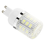 4W G9 LED 콘 조명 T 30 SMD 5050 400 lm 차가운 화이트 AC 110-130 V