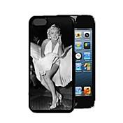 용 아이폰5케이스 패턴 케이스 뒷면 커버 케이스 섹시 레이디 하드 PC iPhone SE/5s/5