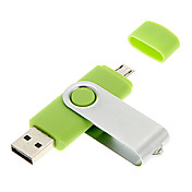 4gb rotativo usb / micro usb flash drive OTG