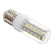 7W E26/E27 LED 콘 조명 T 36 SMD 5730 650 lm 따뜻한 화이트 AC 220-240 V