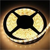 ZDM ™ 방수 5m SMD 4800lm 따뜻한 하얀 빛 주도 72w 300 * 5050 스트립 램프 (DC12V)