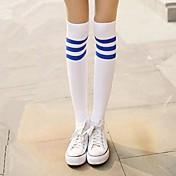 양말&스타킹 달콤한 로리타 클래식/전통적 롤리타 로리타 로리타 로리타 액세서리 스타킹 프린트 줄무늬 에 대한 나일론