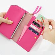 다기능 지퍼 지갑 (분류 된 색깔)
