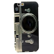 Camera Pattern TPU Soft Cover for iPhone 6/6S