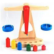 균형 체스 판 나무 균형 교육 완구