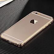 용 아이폰6케이스 / 아이폰6플러스 케이스 울트라 씬 케이스 범퍼 케이스 단색 하드 메탈 iPhone 6s Plus/6 Plus / iPhone 6s/6