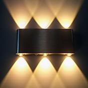 AC 85-265 6W 집적 LED 모던/콘템포라리 브러쉬된 특색 for LED,주변 라이트 벽 빛