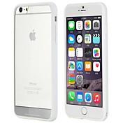 Rock® más encantador pc series de alta calidad + TPU importado de la contraportada para el iphone 6 más (colores surtidos)