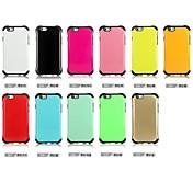 용 아이폰6케이스 / 아이폰6플러스 케이스 패턴 케이스 뒷면 커버 케이스 단색 소프트 TPU iPhone 6s Plus/6 Plus / iPhone 6s/6