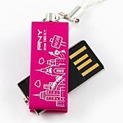 PNY 사랑스러운 무관 파리 에펠 탑 16기가바이트 USB 플래시 드라이브
