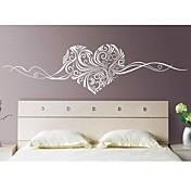 로맨스 정물화 패션 플로럴 추상 벽 스티커 플레인 월스티커 데코레이티브 월 스티커,비닐 자료 이동가능 홈 장식 벽 데칼