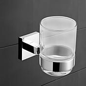 YALI.M®,Soporte para Cepillo de Dientes Cromo Montura en Pared Latón Contemporáneo