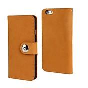 스탠드 카드 슬롯과 아이폰 6 플러스 5.5 fashion® 누벅 가죽 지갑 케이스 (모듬 된 색상)