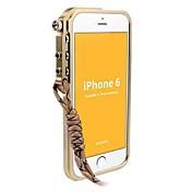 용 아이폰6케이스 / 아이폰6플러스 케이스 패턴 케이스 범퍼 케이스 단색 하드 메탈 iPhone 6s Plus/6 Plus / iPhone 6s/6