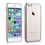 electrochapa el capítulo cero resistente estuche rígido trasera transparente para el iPhone 6 Plus (color clasificado)