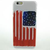 Para Funda iPhone 6 / Funda iPhone 6 Plus Diseños Funda Cubierta Trasera Funda Bandera Dura PolicarbonatoiPhone 6s Plus/6 Plus / iPhone