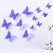 애니멀 로맨스 3D 벽 스티커 3D 월 스티커 데코레이티브 월 스티커 냉장고 스티커,비닐 자료 이동가능 재부착가능 홈 장식 벽 데칼