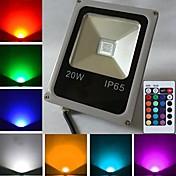 10w llevó el reflector 1 el poder más elevado llevó el rgb de 450-700 lm ac teledirigido 85-265 v