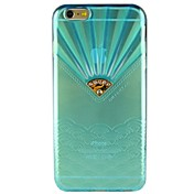 용 아이폰6케이스 / 아이폰6플러스 케이스 크리스탈 케이스 뒷면 커버 케이스 카툰 소프트 TPU iPhone 6s Plus/6 Plus / iPhone 6s/6