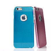Toophone® JOYLAND Wave Point Two Metal Back Cover for iPhone 6 Plus (Assorted Color)