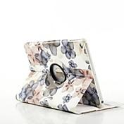 사과 아이 패드 에어 - 특별 디자인 - 360⁰ 케이스/종이 접기 케이스 (PU 가죽 , 레드/블랙/옐로우/그레이)
