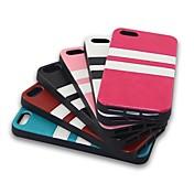 pasta de papel rayado TPU para 5s iPhone (colores surtidos)