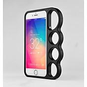 용 아이폰6케이스 / 아이폰6플러스 케이스 링 홀더 케이스 뒷면 커버 케이스 단색 하드 메탈 iPhone 6s Plus/6 Plus / iPhone 6s/6