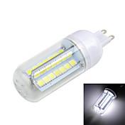 G9 LED 콘 조명 T 56 SMD 5050 800-1000 lm 따뜻한 화이트 / 차가운 화이트 AC 220-240 V 1개