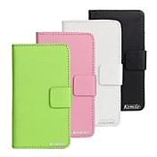 kemile nueva llegada de la PU cae billetera de cuero para ony xperia m c1905 (color aorted)