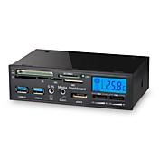 1 USB 3.0 다기능 액정 팬 컨트롤러 패널 미디어 대시 보드 카드 리더에서 5.25 인치 (6)