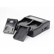 올림푸스 bln1 시리즈 전문의 USB LCD 듀얼 충전기