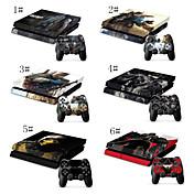 만화 캐릭터는 PS4에 대한 비닐로 피부 스티커 디자인& 이 컨트롤러는 PS4 스티커 스킨