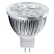 4w mr16 5leds 400-450lm 조명 램프 led 스포트 라이트 (12v) 1pcs