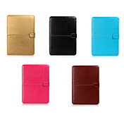 """cuaderno Asling cuero de la PU para el macbook de la manzana 12 """"(color clasificado)"""