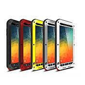 용 Samsung Galaxy Note 충격방지 케이스 풀 바디 케이스 갑옷 메탈 Samsung Note 5